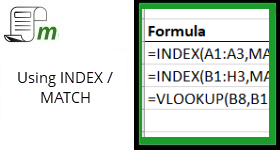 INDEX / MATCH – How does it work?