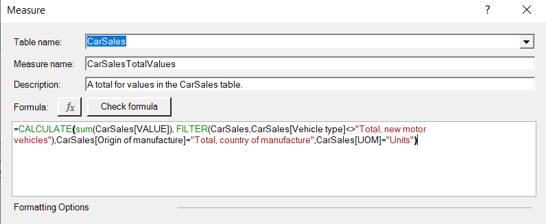 Calculate formula before Power Query clean process.