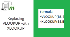 How to use XLOOKUP in Excel to replace existing LOOKUP functions.