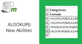 XLOOKUP – New abilities