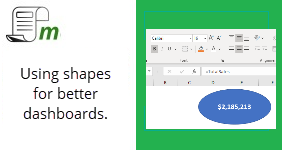 Using Shapes for Better Dashboards