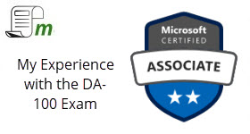 DA-100 – The Certified Data Analyst Exam