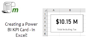 Make a KPI Card like Power BI – In Excel!